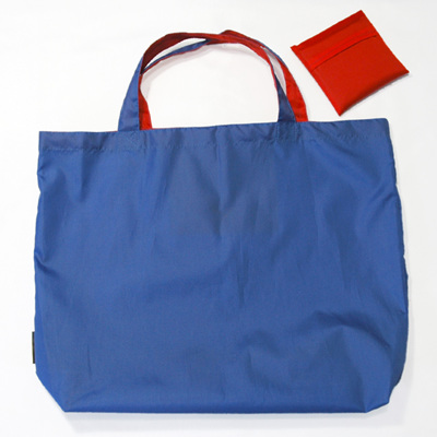 grocery pouch | royal/red