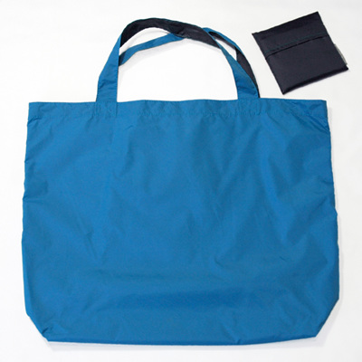 grocery pouch | turquoise/navy