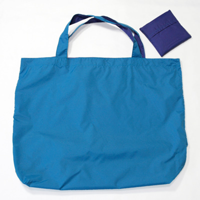 grocery pouch | turquoise/purple