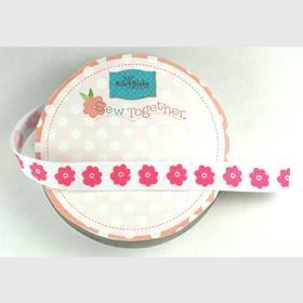 Grosgrain Pink Flower
