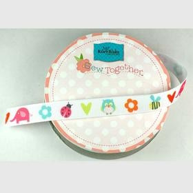 Grosgrain Ribbon - Alphabet Soup