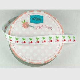 Grosgrain Ribbon - Cherry