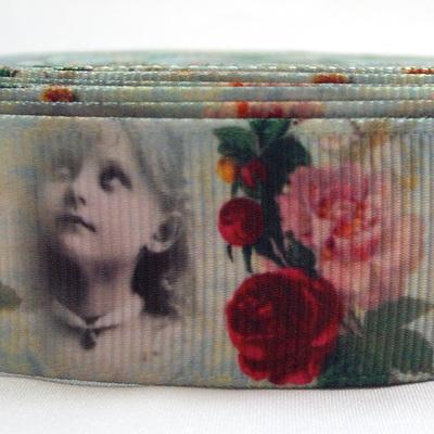Grosgrain Ribbon x 1 Metre - Shabby Roses & Vintage Girl