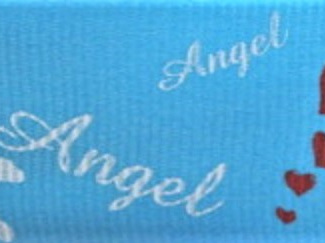 Grosgrain Ribbon x 3 Metres Angels: Sky Blue