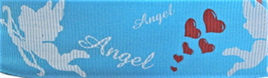 Grosgrain Ribbon x 3 Metres Angels: Sky Blue