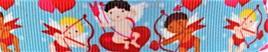 Grosgrain Ribbon x 3 Metres Baby Cupids