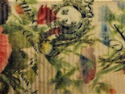 Grosgrain Ribbon x 3 Metres Big Vintage Flowers