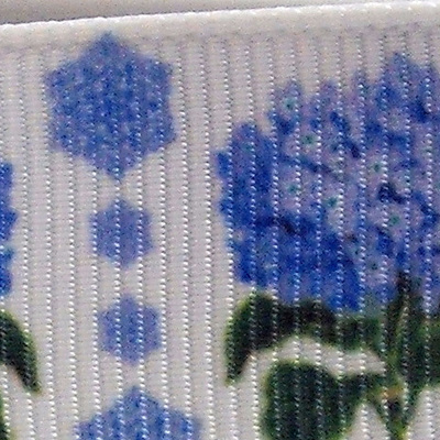 Grosgrain Ribbon x 3 Metres - China Blue Flowers