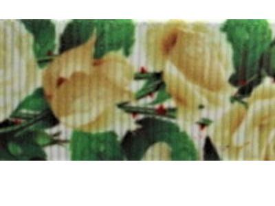 Grosgrain Ribbon x 3 Metres Cream Roses