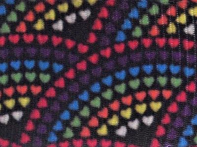 Grosgrain Ribbon x 3 Metres Fan Pattern