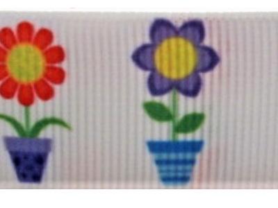 Grosgrain Ribbon x 3 Metres Flowerpots