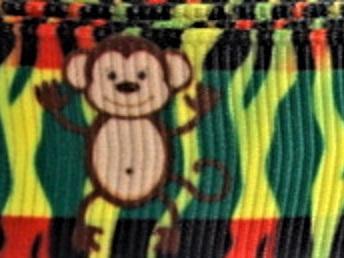 Grosgrain Ribbon x 3 Metres Jungle Animals