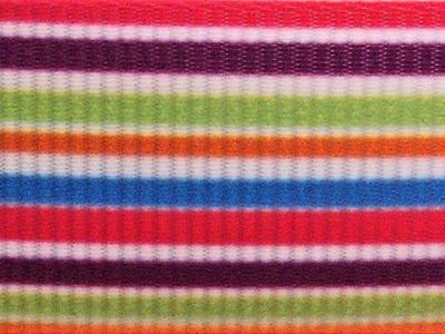 Grosgrain Ribbon x 3 Metres Lollipop Stripes