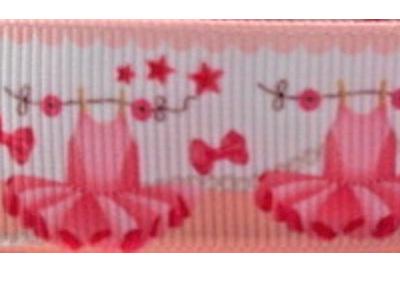 Grosgrain Ribbon x 3 Metres Pale Pink Ballet Dresses and Shoes