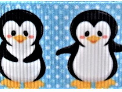 Grosgrain Ribbon x 3 Metres Penguins