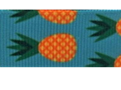 Grosgrain Ribbon x 3 Metres Pineapples