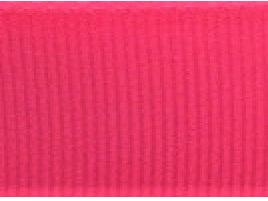 Grosgrain Ribbon x 3 Metres Plain: Bright Pink