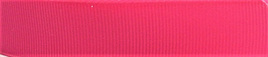 Grosgrain Ribbon x 3 Metres Plain: Bright Pink