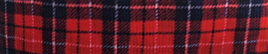 Grosgrain Ribbon x 3 Metres Red Tartan-Style Pattern