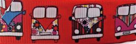 Grosgrain Ribbon x 3 Metres Retro Vans