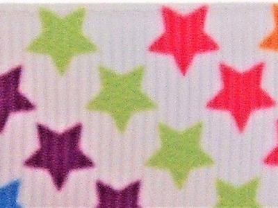 Grosgrain Ribbon x 3 Metres Stars