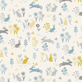 Grove Rabbits Cream TP-2163-Q