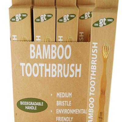 GT bamboo toothbrush PLU 8297