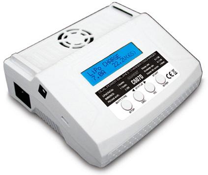 GT Power C607D AC/DC 80 Watt LiPo Balance Charger