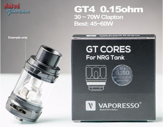 GT4 Head for Vaporesso NRG Tanks