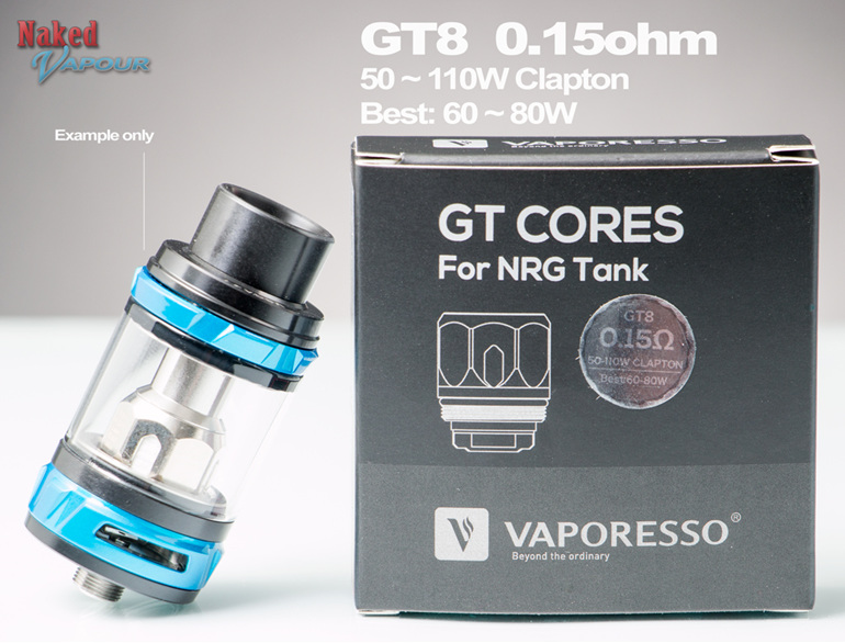 GT8 Head for Vaporesso NRG Tanks