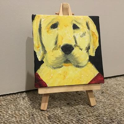 Puppy Painting - Buddy