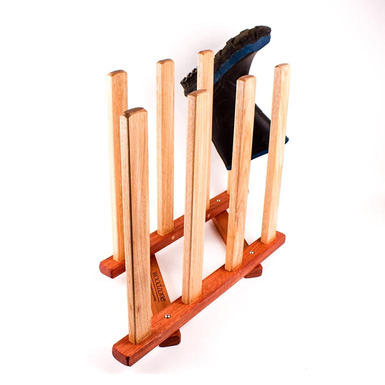 gumboot rack - 4 pairs - made in nz