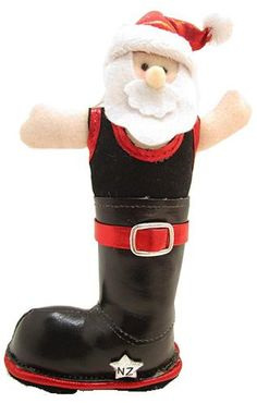 Gumboot Santa Tree Decoration