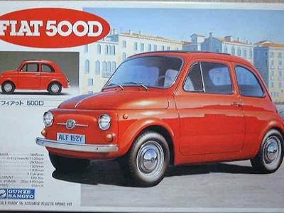 Gunze Sangyo 1/24 Fiat 500D