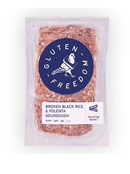 Guten Freedom Sourdough Bread Broken Black Rice & Polenta 550g