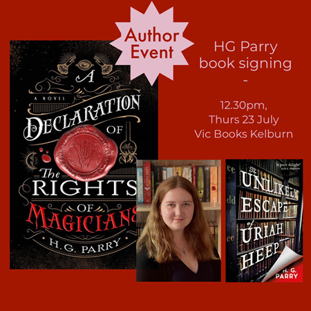 H. G. Parry: Author Signing