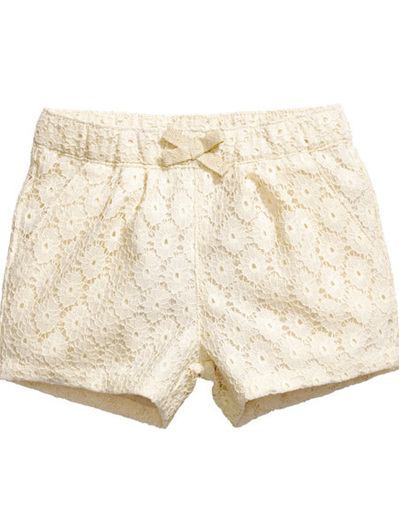 H & M girls Lace shorts