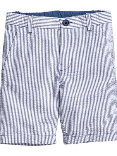 H & M seersucker shorts