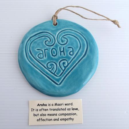 HA04AB Blue Aroha Tile