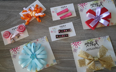 Hair bows and clips