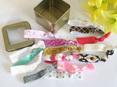 Hair Ties in TIN BOX (15 ties)
