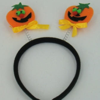 Hairband with Pumpkins