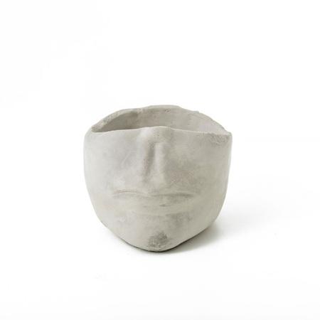 Half Head Planter Pot Large