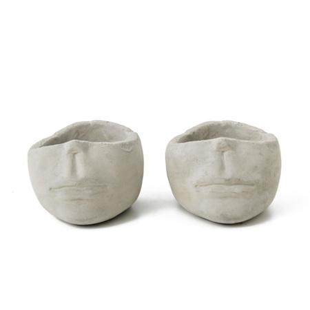 Half Head Planter Pot Small