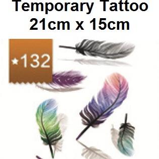 Half Sleeve Tattoo Sticker 21cmX15cm