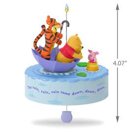 Hallmark keepsake - Winnie The Pooh umbrella magic