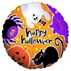 "Halloween - Creepy Critters Foil Balloon 18"""