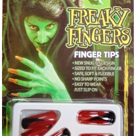 Halloween - Fingernails Set - Red Print