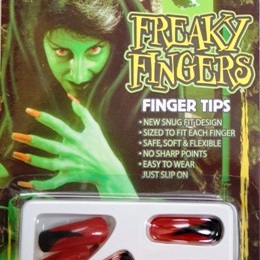 Halloween - Fingernails Set - Red Print
