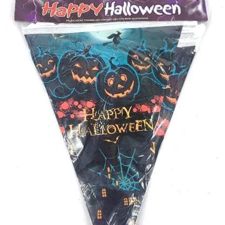 Halloween Flag Bunting 2m long